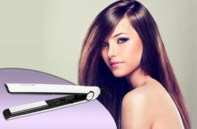 £39.99 instead of £86 for a pair of Corioliss C1 Carbon Fiber titanium hair straighteners from Wowcher Direct - save 54%