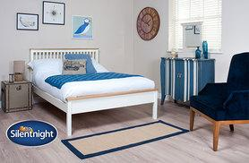 £129 for a single Silentnight® Montreal bed frame, £169 for double or £179 for king size from Wowcher Direct - save up to 35%