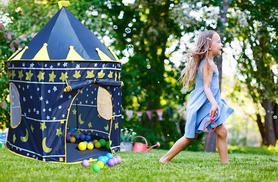 £14.99 instead of £49.99 (from Rock-a-by Baby) for a magical pop-up play tent - choose from 2 designs & save 70%