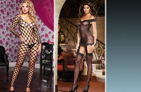 £6 instead of £49.99 (from Boni Caro) for a sexy body stocking or short body suit in a choice of 5 designs - save 88%