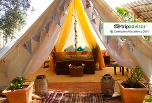 £89 (from Tipi Algarve) for a 3nt Algarve glamping break for 2, £99 for 4nts, £149 for a 3nt family break for 4, £169 for 4nts - save up to 29%