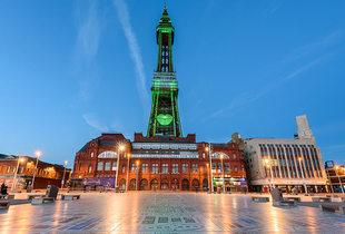 £29 for overnight Blackpool stay for two people with breakfast, £49 for a two-night stay with wine, £69 for three nights or £89 for a family stay - save up to 52%