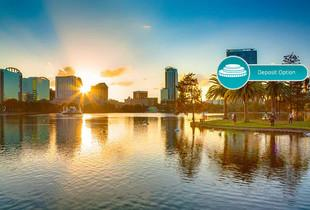 From £439pp (from Great Pacific Travels) for a seven-night Orlando break with flights, from £519pp for a 10-night break, or pay a £250pp deposit today - save up to 35%