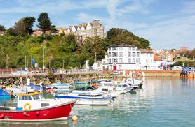 £49 (at Grand Burstin Hotel, Folkestone) for a 1-night break for two including breakfast, dinner & sparkling wine, £79 for 2 nights - save up to 40%