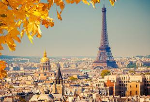 From £99pp instead of up to £142.29pp (with ClearSky Holidays) for a 2-night central Paris break including flights, from £139pp for 3 nights - save up to 30%