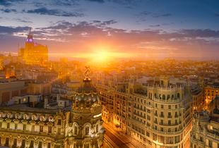 From £99pp instead of up to £195.48pp (from Tour Center) for a 2-night Madrid break including flights and optional tours - save up to 49%