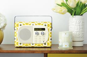 £99 instead of £145 for a Pure Evoke Mio Orla Kiely portable digital and FM radio from Wowcher Direct - save 32%