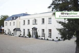 £89 (at Eastclose Country House Hotel, New Forest) for a 1nt stay for 2 people including breakfast and a 2-course dinner, £149 for 2nts - save up to 54%