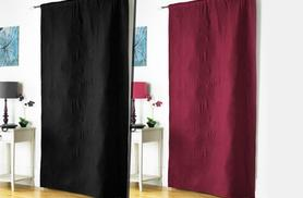 £12 instead of £29.99 (from Groundlevel.co.uk) for a thermal door curtain - choose from 2 colours and save 60%