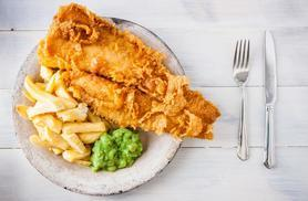 From £9.95 instead of up to £17.90 for a fish 'n' chips meal for 2 people, from £18.95 for 4 people at The View Stratford - save up to 44%
