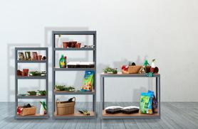 From £24.99 for a 5-tier storage shelving unit or 2-tier workbench from Wowcher Direct - save up to 70%