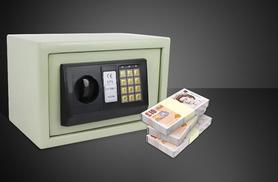 £25 for a small electronic steel safe, £32 for a large safe from Wowcher Direct - keep your valuables secure & save up to 62%