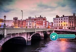 From £99pp (from ClearSky Holidays) for a two-night 4* Dublin break including flights and whiskey tour, from £149pp for three nights - save up to 53%