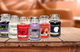 £14.99 instead of £24.99 (from SA Products) for a large Yankee candle - choose from 6 scents & save 40%