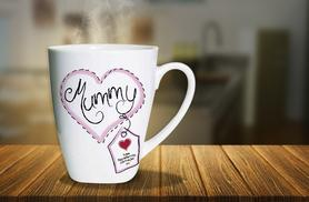 £6.99 instead of £19.99 (from ClickWrap) for a latte mug, personalised with your choice of photo and text - save 65%
