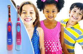 £8.99 (from Wowcher Direct) for a kids Oral B battery powered toothbrush - choose from 2 designs!