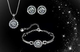 £10 instead of £59.99  (from Romatco) for a faith trio set made with Swarovski Elements - save 83%