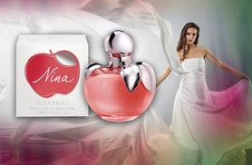 £19.99 for a 30ml bottle of Nina by Nina Ricci EDT, £24.99 for 50ml or £32.99 for 80ml from Wowcher Direct - save up to 29%