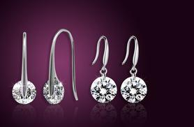 £5 instead of £27.99 (from Romatco) for a pair of moonlight drop earrings made with Swarovski Elements - choose from 2 styles & save 82%