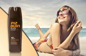 £6.99 instead of £15.50 (from Wowcher Direct) for a 200ml bottle of Piz Buin in-sun moisturising ultra-light SPF 15 sun spray - save 55%