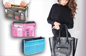 £5 instead of £39.99 (from Top Notch Fashion) for a handbag organiser, or two for £8.99 - save up to 87%