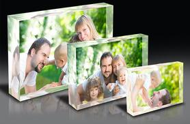 £9.99 instead of £39.99 (from 1clickprint) for 3 personalised wooden photo blocks, £14 for 3 acrylic blocks - save up to 75%