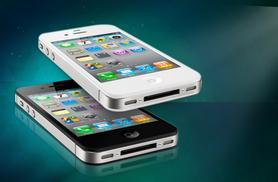 £99 (from EMS Tech) for an unlocked grade B refurbished iPhone 4 8GB, £115 for 16GB - choose black or white!