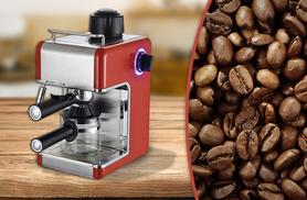 £39.98 instead of £149.99 (from Zoozio) for a Sentik espresso coffee machine - choose red or black and save 73%