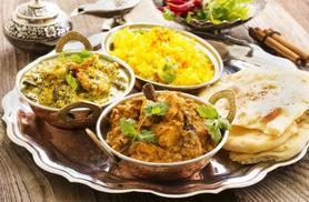 £19 instead of up to £49.20 for a 4-course Indian meal with tea or coffee for 2 at Nandini, Oldham - save up to 61%