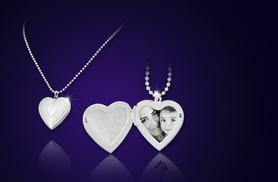 £7.99 instead of £49.99 (from Your Ideal Gift) for a sterling silver-plated heart locket - save 84%