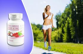 £8 instead of £39.99 (from Ultra Supplements) for a 1-month* supply of Raspberry Ketone and Garcinia Cambogia capsules - save 80% + DELIVERY INCLUDED!