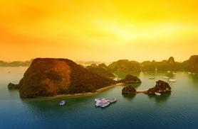 From £399pp (from GetAway Hanoi) for a 9-night Vietnam tour with accommodation, breakfast, domestic transfers and cruise - save up to 62%