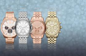 From £144 (from Kendor van Noah) for a watch by Michael Kors in a choice of 7 designs - save up to 32% + FREE DELIVERY!