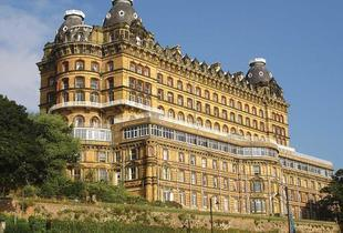 £49 (at The Grand Hotel, Scarborough) for a 1-night stay for 2 with 3-course dinner, wine, breakfast and late checkout, £89 for 2 nights - save up to 39%