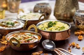 £19 instead of up to £54.20 for a 2-course Indian meal for 2 including poppadoms, sides and a glass of wine each at Clipper, Brick Lane - save up to 65%
