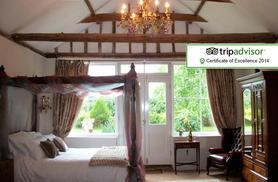 From £179 (at The Walnuts Country House) for a 2-night cottage stay for 2 inc. hot tub, chocolates & bottle of wine, £279 for 3 nights, £329 for 4 nights - save up to 37%