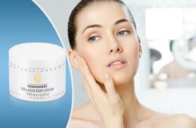 £9.99 instead of £28.95 (from The Beauty Store) for 200ml of Elizabeth Grant Collagen Body Cream - save 65%