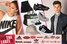 £10 for a £20 voucher to spend at Getthelabel.com - get your hands on your favourite brands this summer and save 50%