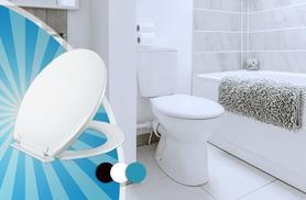 £8.99 instead of £27 (from Wowcher Direct) for a soft-closing toilet seat - be stealthy and save 70%