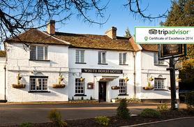 £99 instead of up to £210 for a 2nt stay for 2 inc. breakfast, at the White Horse, Hertingfordbury - save up to 53%