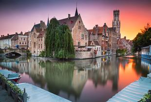 From £99pp (with Weekender Breaks) for a 2-night romantic Bruges break including return flights and breakfast - save up to 22%