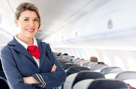 £19 for an online cabin crew diploma, £29 for a 1-day intensive course, £39 for both with Cabin Crew Recruitment - save up to 81%