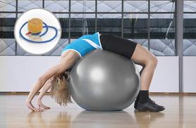 £9.99 instead of £21 (from IQI) for a 65cm or 75cm exercise ball - save 52%
