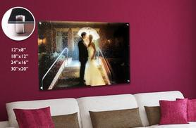 From £8.99 instead of £39.99 (from Your Perfect Canvas) for a personalised acrylic image canvas - choose from 4 sizes & save up to 78%