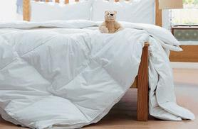 From £18.99 for a 10.5 tog duck feather and down duvet, from £23.99 for a 13.5 tog duvet from Wowcher Direct - save up to 53%