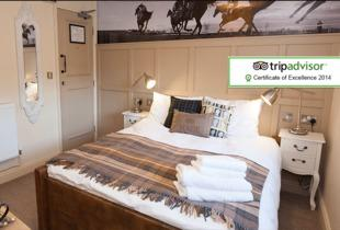 £49 (at The Crown & Horns, West Berkshire) for a 1-night break for 2 including breakfast and a glass of bubbly each, or £89 for 2 nights - save up to 39%