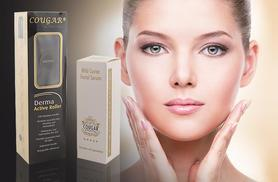 £19 (from Cougar Products) for a derma roller and caviar serum, £39 for a derma roller and 5pc caviar product set