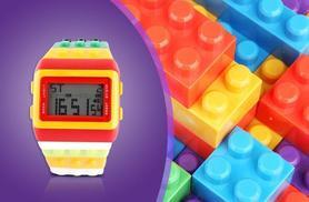 £7.99 instead of £24.99 (from London Exchainstore) for a digital building brick watch - be a big kid and save 68%