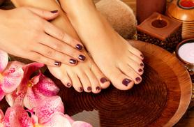 £14 instead of £44 for a Gellish gel manicure and pedicure at The Nail Bar, Prestwich - save 68%