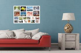 """£11 (from Your Perfect Canvas) for an A3 or 16"""" x 16"""" personalised photo collage canvas, or £14 for an A2 or 20"""" x 20"""" canvas - save up to 76%"""